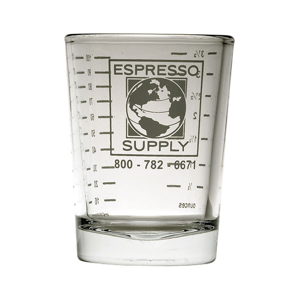 Espresso Supply 4oz Shot Glass