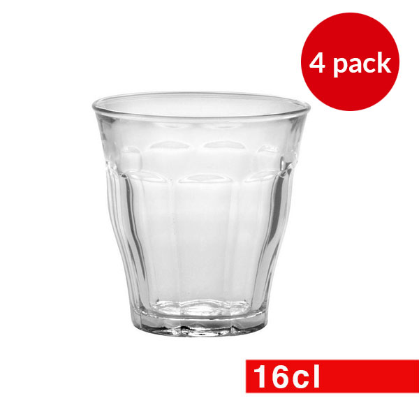 Duralex Picardie Clear Glass 6 Set of 16cl