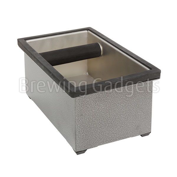Stainless Steel Knock Box Set, 22.86x13.97x10.16cm