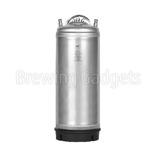 Krome 5 Gallon Ball Lock keg - Steel Handle - NSF Certified