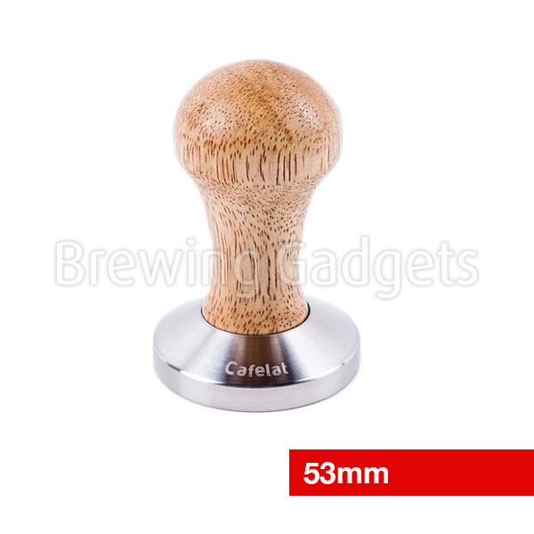 Espresso Tamper - Rubber Wood 53mm
