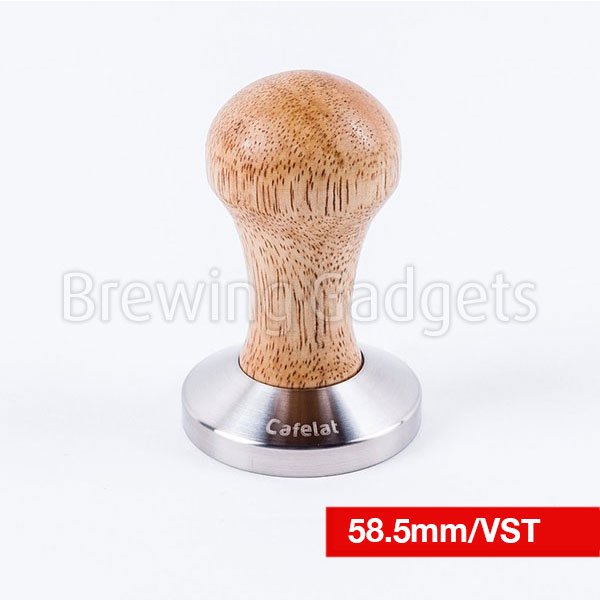 Espresso Tamper - Rubber Wood 58.5mm