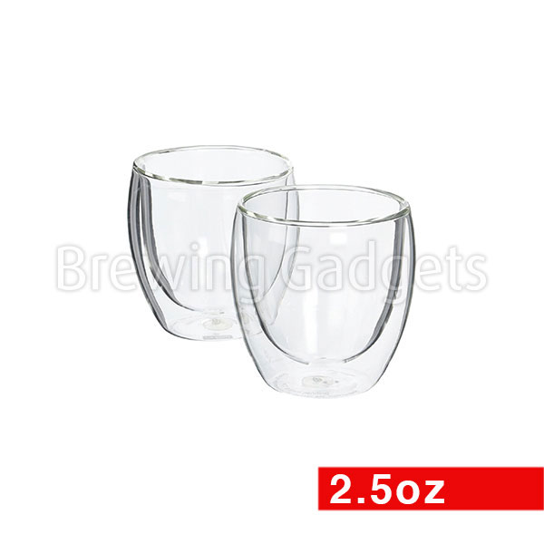 Bodum Pavina Double Wall Thermo-Glass 2.5oz