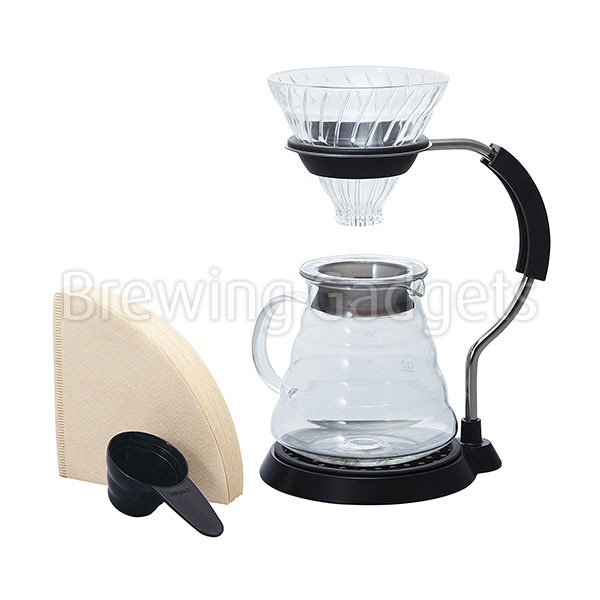 Hario V60 Arm Stand Glass Dripper Set