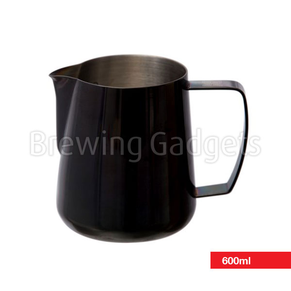 Barista Hustle 600ml Space Black Pitcher