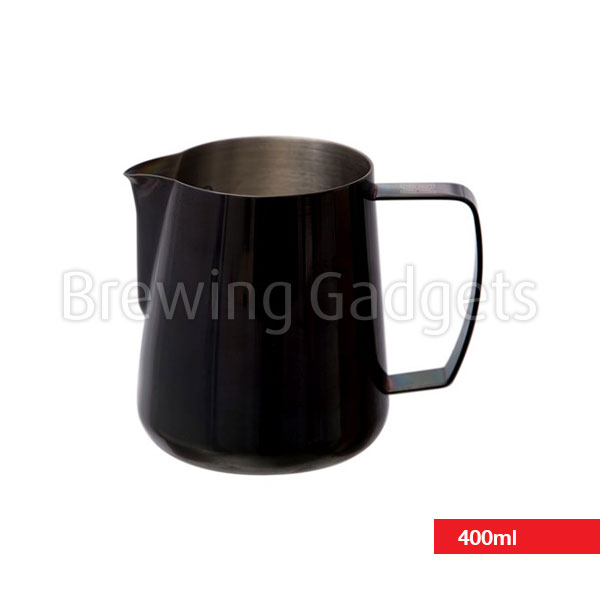 Barista Hustle 400ml Space Black Pitcher