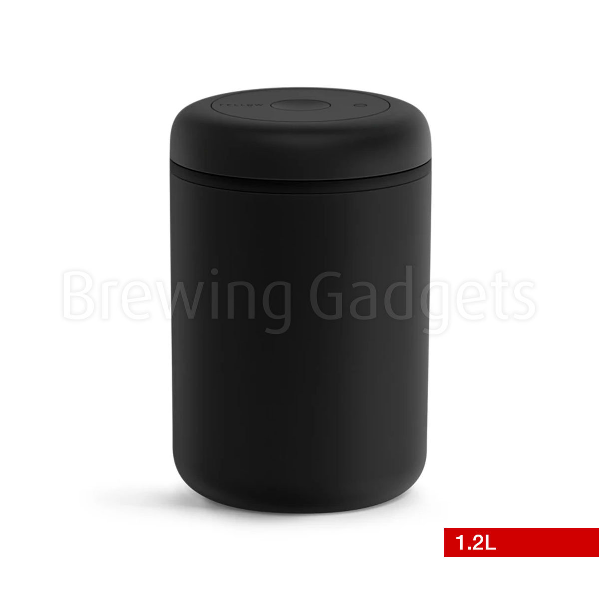 Fellow Atmos Vacuum Canister, Black 1.2L