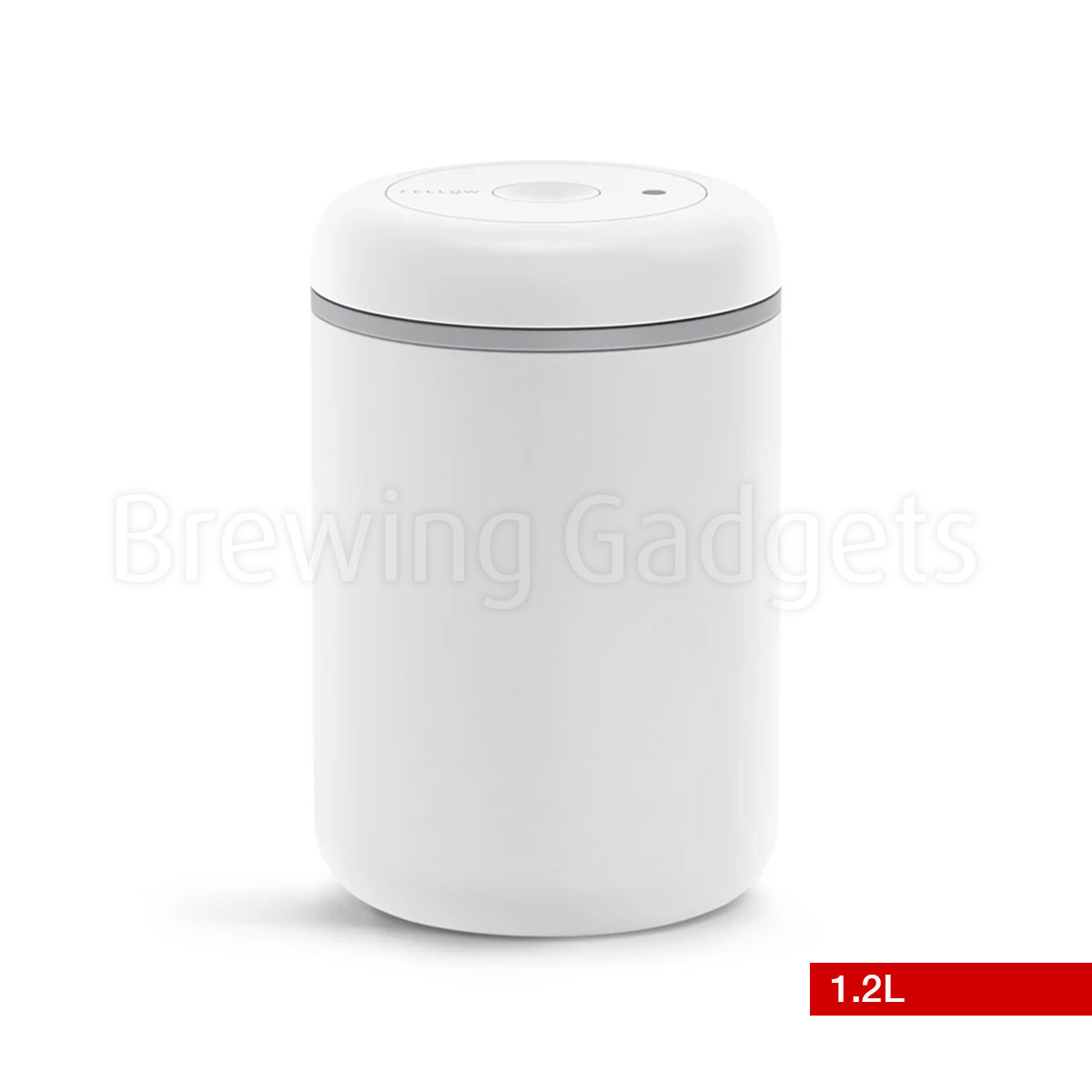 Fellow Atmos Vacuum Canister, White 1.2L
