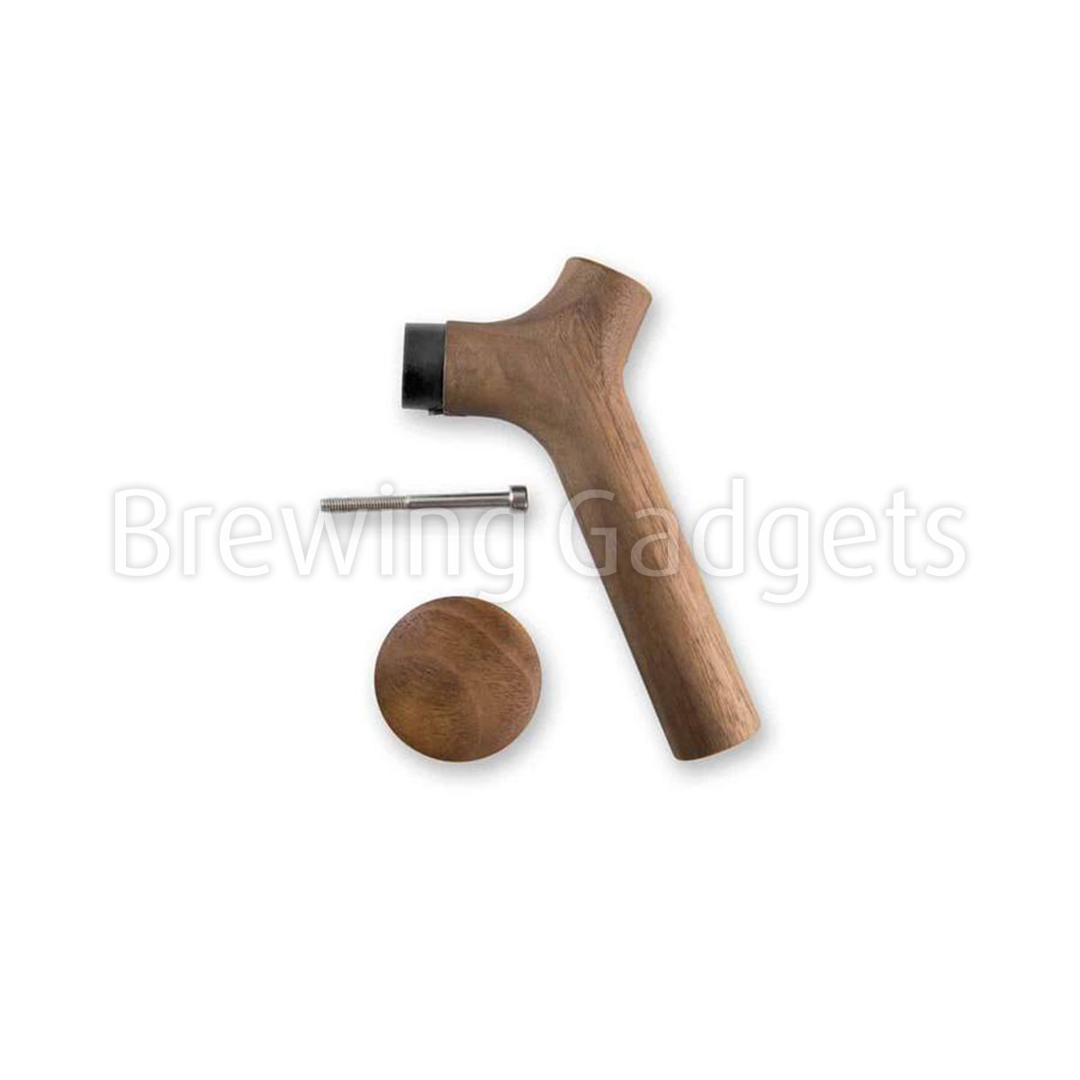 Fellow Stagg Wooden Walnut Handle and Lid Pull Kit