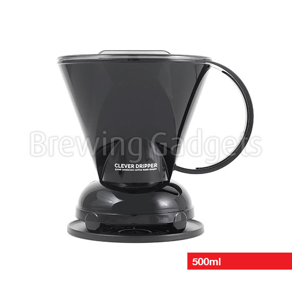 Clever Dripper Black 500ml with Filters