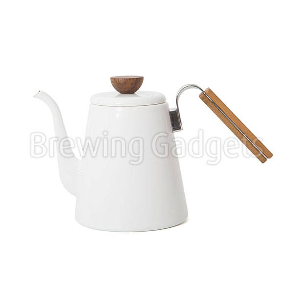 Hario Bona Coffee Drip Kettle White