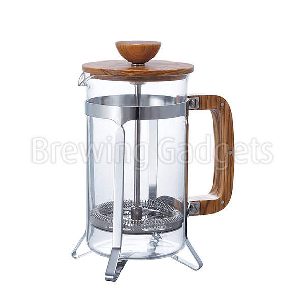 Hario Cafe Press Olive Wood-600ml