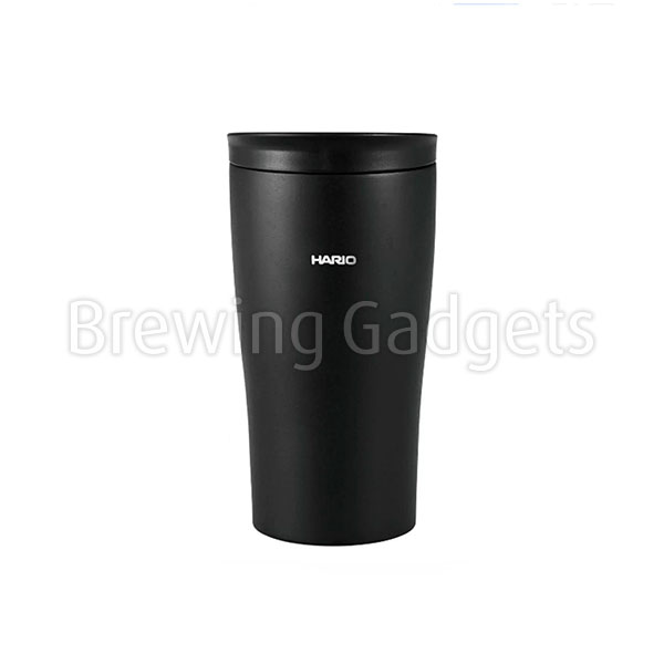 Hario Insulated Tumbler Black with Lid 300