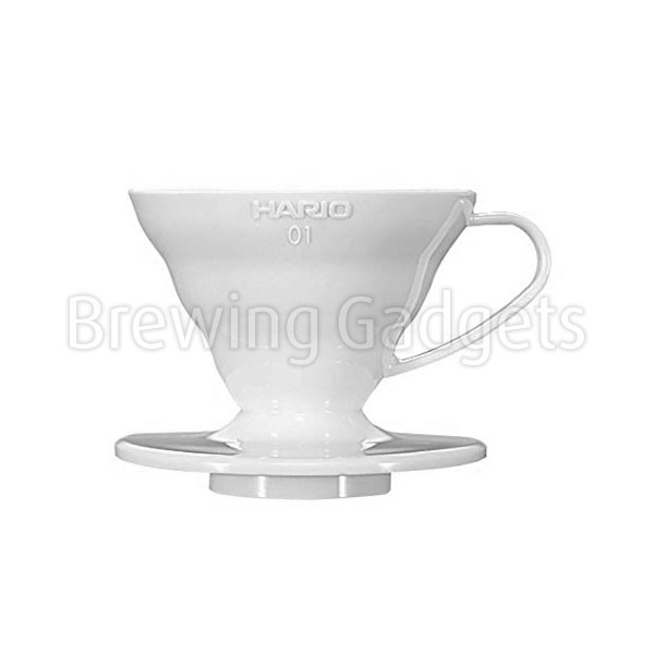 V60 Coffee Dripper 01, White (PP)