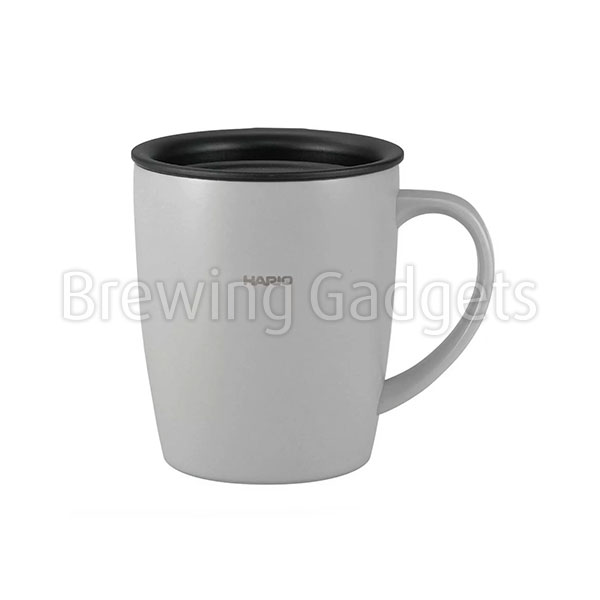 Hario Insulated Mug with Grey Lid 300