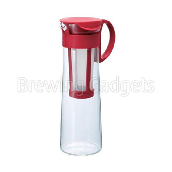 Hario Mizudashi Cold Brew Coffee Pot Red 1000ml
