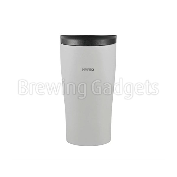 Hario Insulated Tumbler Grey with Lid 300