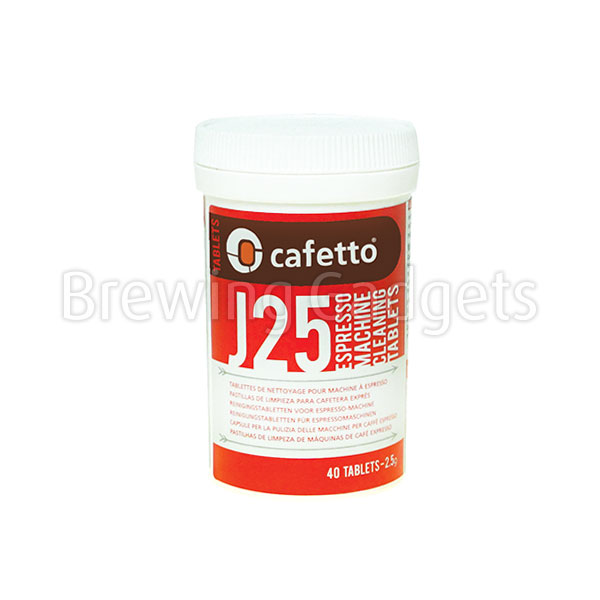 J25 Espresso Machine Cleaning Tablets