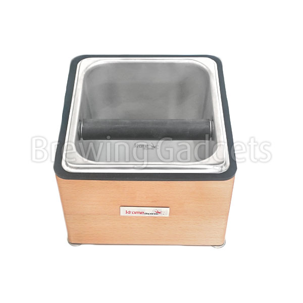 Krome Wooden Counter Top Knock Box