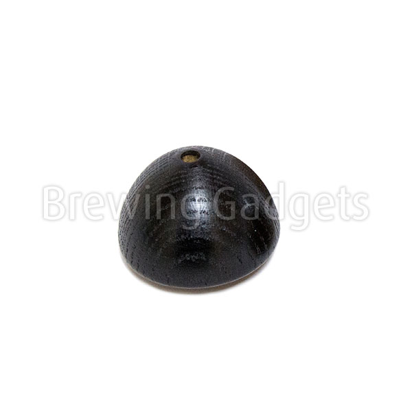 Comandante Big Knob Lacquered Black