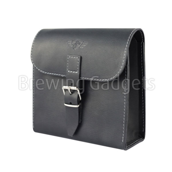 Comandante Leather Tool Bag Black