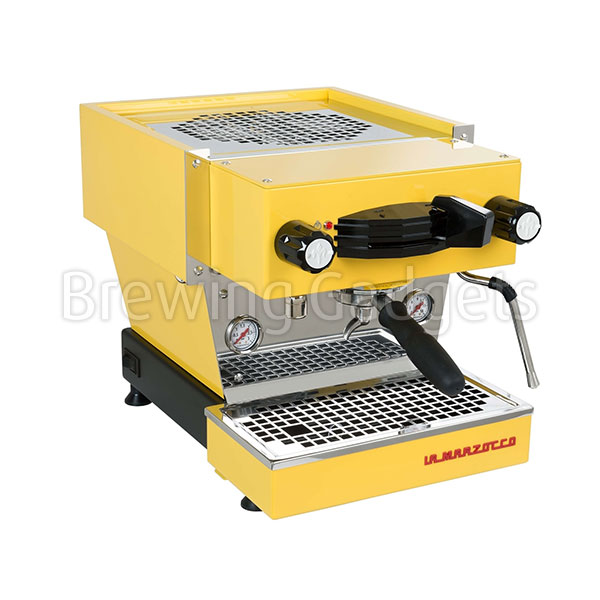 La Marzocco Linea Mini Yellow - With New Prosteam & IOT Technology