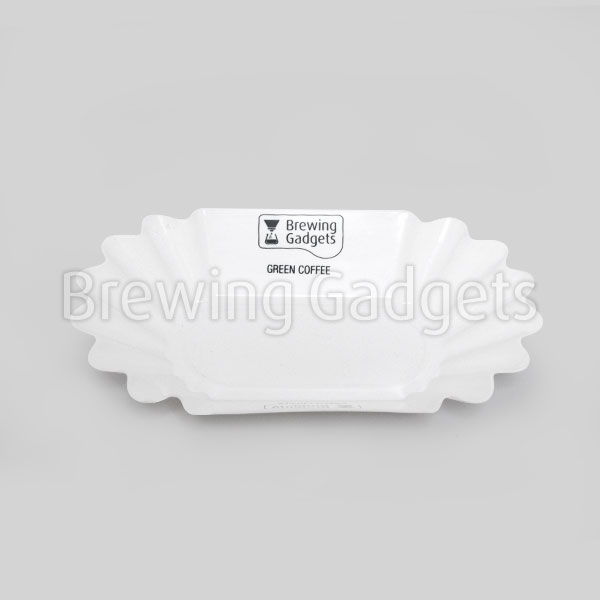 BG Oval Bean Tray - White - 12pcs
