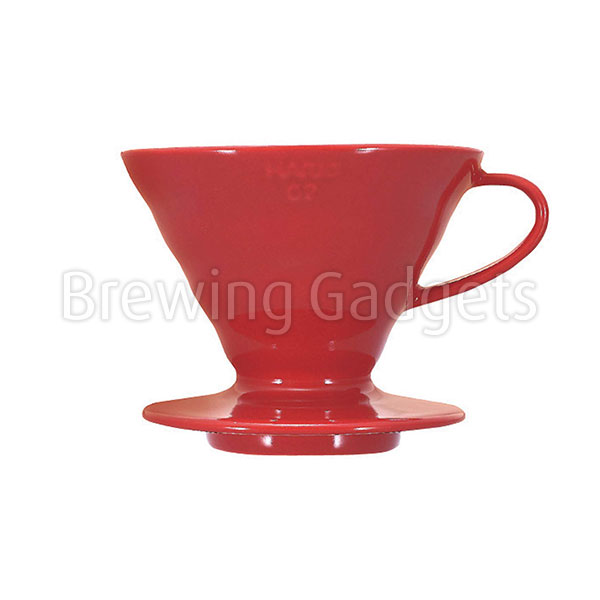 Hario V60-02 Ceramic - Red