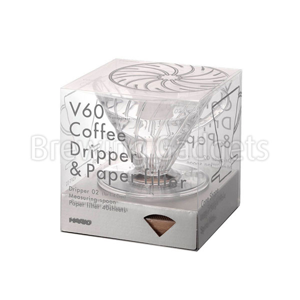 V60 Coffee Dripper & Paper Filter, 1-4 Cups