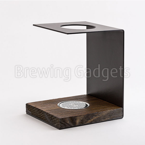 E&B Wood Coffee Brewing Station