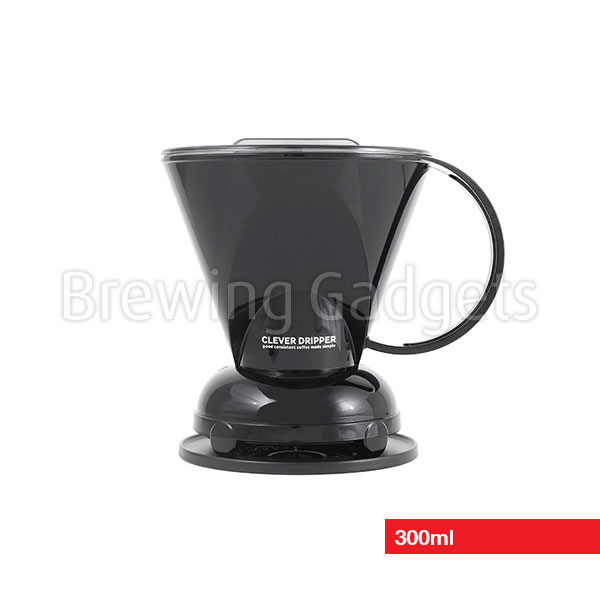 Clever Dripper Black 300ml with Filters
